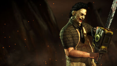 Mkx Leatherface render