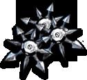 Noob Saibot's Ninja Stars