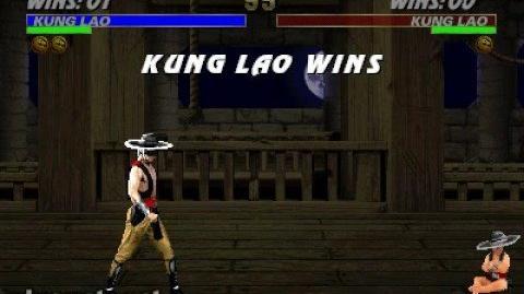 Mortal Kombat 3 - Babality - Kung Lao