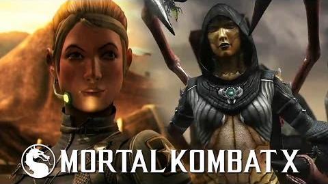 Mortal Kombat X - Cassie Cage vs D'Vorah PS4 Gameplay TRUE-HD QUALITY