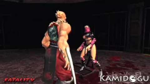 "Mortal Kombat Deception Baraka's ""Slice and Dice"" Fatality"