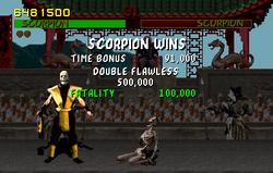 Scorpion fatality