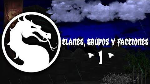 Mortal Kombat clanes, grupos y facciones - parte 1 -