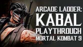 Mortal Kombat 9 (PS3) - Arcade Ladder Kabal Playthrough Gameplay