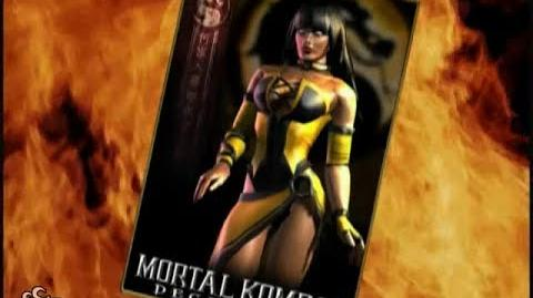 HQ Mortal Kombat Deception - Tanya Trading Card