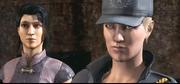 Li Mei e Sonya