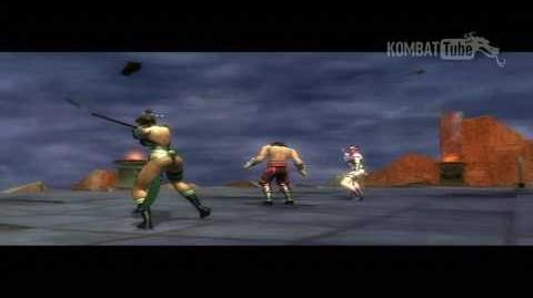 MK SM Boss Fatality Jade & Mileena