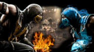 Mortal kombat x wallpaper scorpion vs sub zero by preslice-d7l48ep
