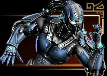 Cyborg sub-zero ladder
