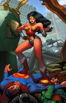 Wonder Woman colors by danimation2001