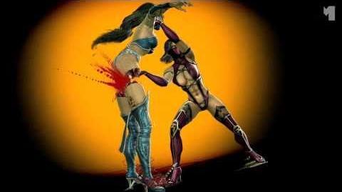 Mortal Kombat 2011 MİLEENA resmi treyler