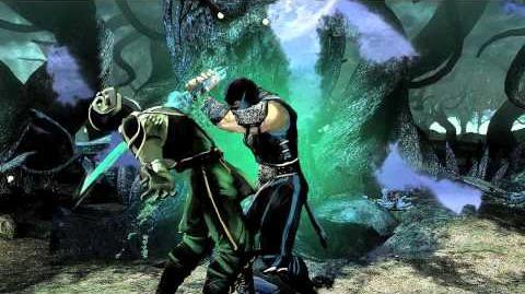 Mortal Kombat 2011 Sub-Zero resmi treyler