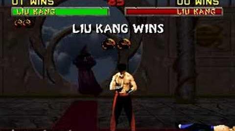 Mortal Kombat II - Fatality 2 - Liu Kang