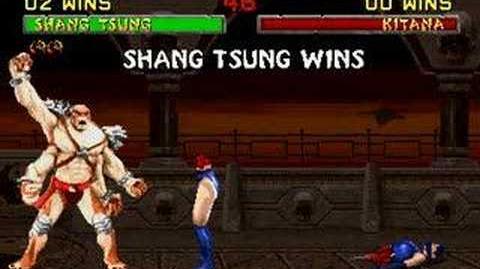 Mortal Kombat II Shang Tsung (Kintaro) Fatality