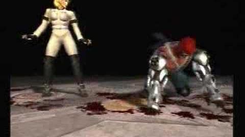 Mortal Kombat Deadly Alliance - Sonya's fatality
