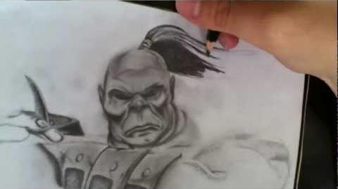 MORTAL KOMBAT ART 2011 GORO