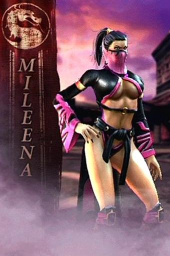 mortal kombat female characters masks