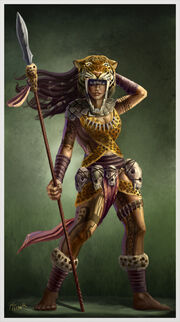 Amazon woman by ptimm-d584tbn