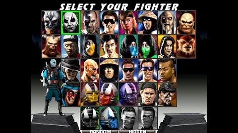 Mortal Kombat Trilogy Extended MKTX (MUGEN) - Playthrough