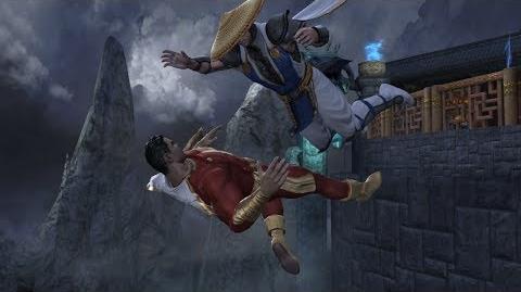 Mortal Kombat Vs DC Universe All Free Fall