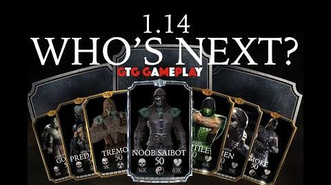 MKX MOBILE 1.14 UPDATE Your Top Character Picks!