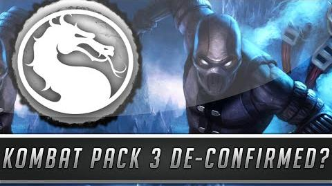 Mortal Kombat X New Kombat Pack 3 DLC De-Confirmed By Ed Boon? (Mortal Kombat XL)