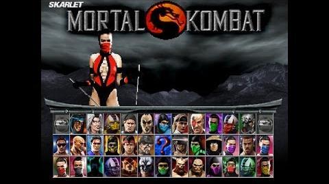 Mortal Kombat Project 4.1 V6 (MUGEN) - Playthrough