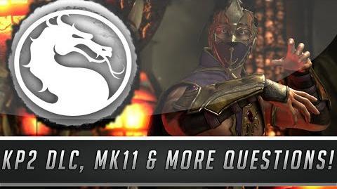 Mortal Kombat X Noob Saibot DLC, Onaga Returning, KP3 Possibilities, MK11 & More! (MKX QnA 10)