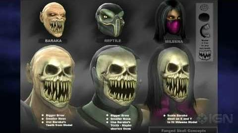 Mortal Kombat Brutal X-Ray Action Highlights