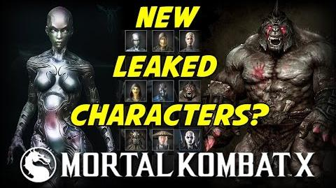 Mortal Kombat X New Leaked Characters?