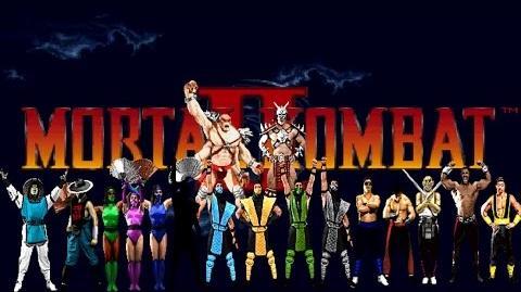 MUGEN - Mortal Kombat II - The Lost Secrets