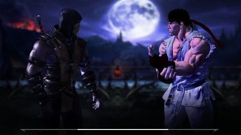 Mortal Kombat vs Street Fighter trailer(Fan Game)