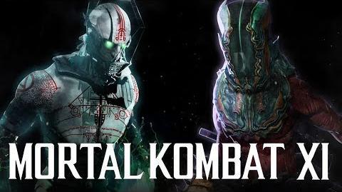 Mortal Kombat 11 Quan Chi & Drahmin Character Concept Art Proposal w Variations, Story & More!