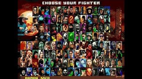 Mortal Kombat Project 4.9.3 (MUGEN) - Playthrough