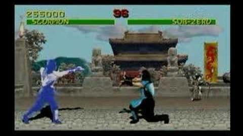 Mortal Kombat Sub Zero Trading Card