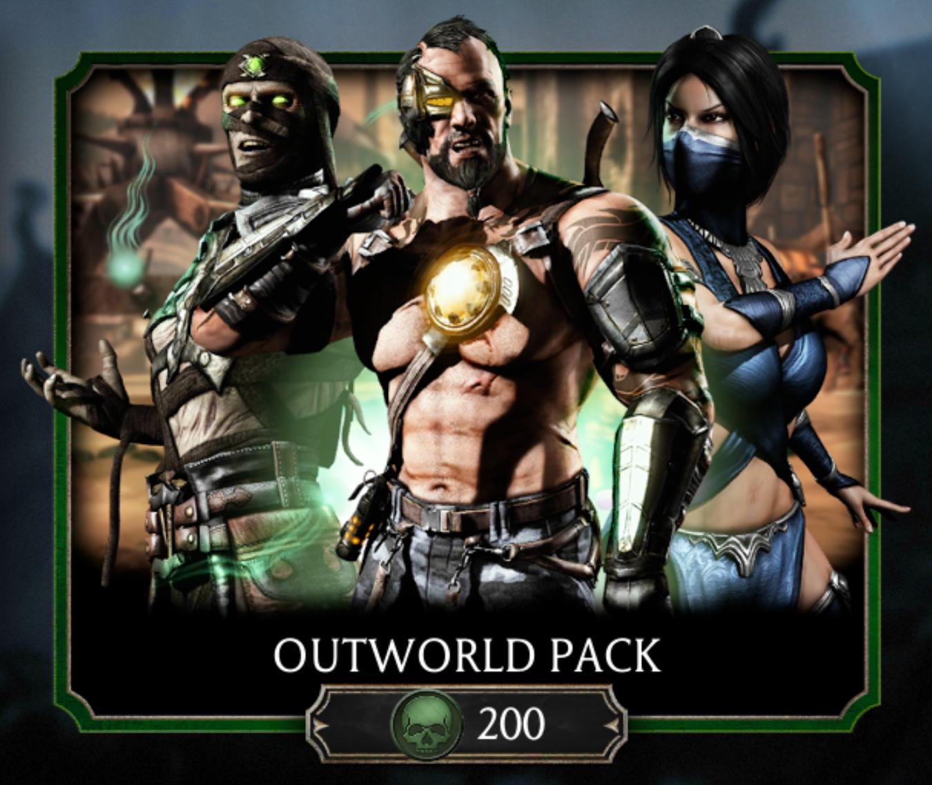 Outworld Pack | Mortal Kombat Mobile Wikia | FANDOM powered