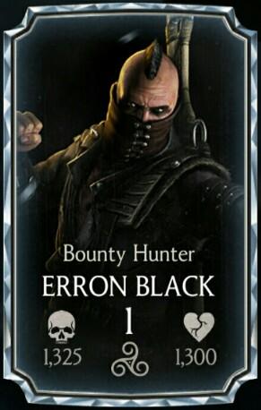 collection image wallpaper: Mortal Kombat Erron Black