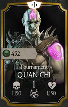 Quan Chi/Tournament (Gold) | Mortal Kombat Mobile Wikia