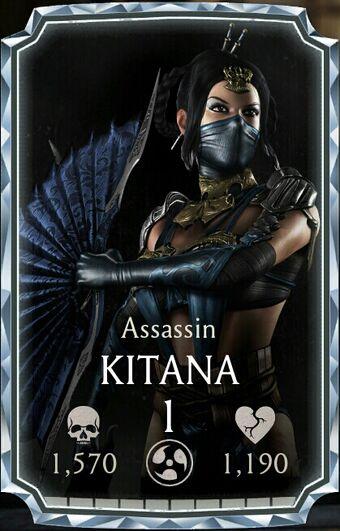 Kitana Assassin Mortal Kombat Mobile Wikia Fandom