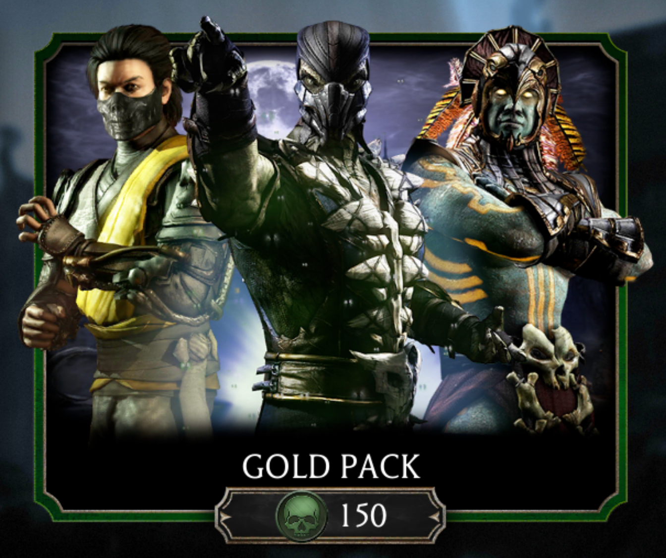Gold Pack | Mortal Kombat Mobile Wikia | FANDOM powered by Wikia