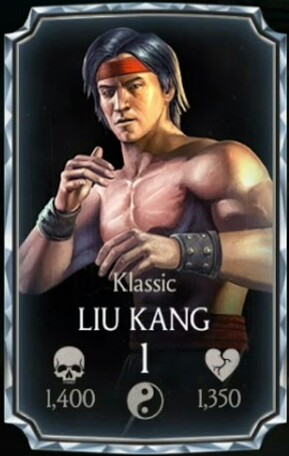 Liu Kangklassic Mortal Kombat Mobile Wikia Fandom Powered By Wikia