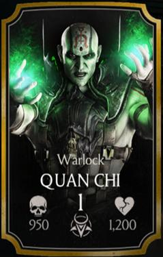 Quan Chi/Warlock | Mortal Kombat Mobile Wikia | FANDOM powered by Wikia