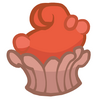Orrible Orange Crab Cupcake