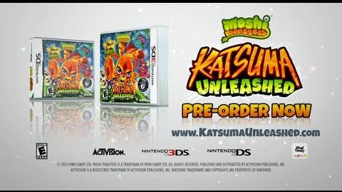OFFICIAL KATSUMA UNLEASHED TRAILER US - AVAILABLE ON NINTENDO DS 3DS - PRE-ORDER NOW!