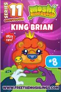 King Brian Card