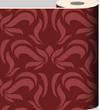 Red Swirl Wallpaper