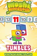 Tumbles Countdown Card