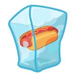 Wobbled Hot Dog