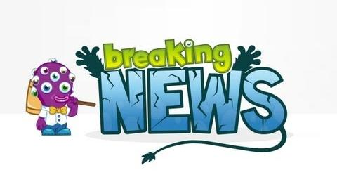 Moshi Monsters - Timber Shiverin' Breaking News!