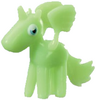 Angel figure scream green